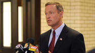 O'Malley notes fewer arrests, persistent violence in Baltimore