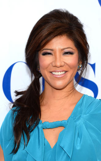 Talk show host Julie Chen