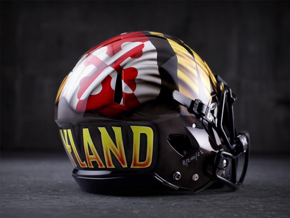 d88e549be Maryland unveils new generation of football uniforms with