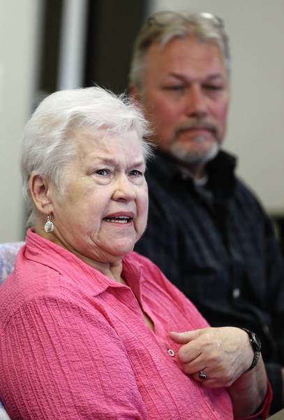 Sharon Mangerson, stepdaughter of John Wrana, and her son Steve Mangerson still don't understand why so much force was used against her 95-year-old stepfather.