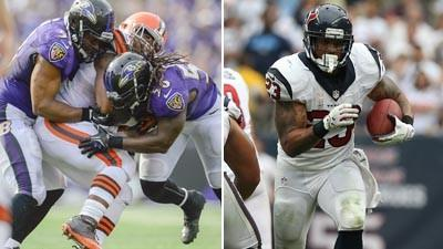 Ravens-Texans matchups to watch
