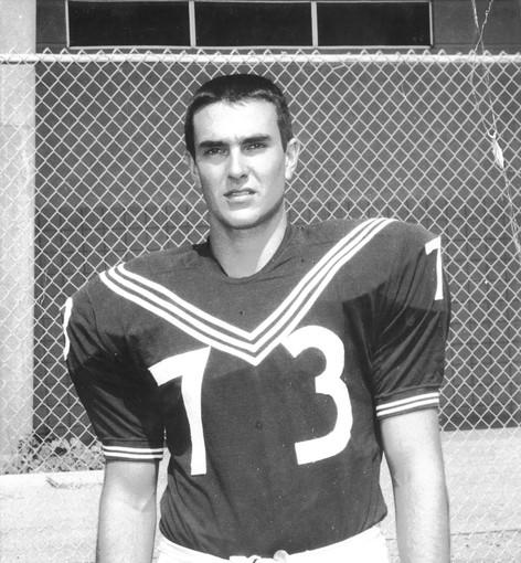 Paul Gentosi played football for Newport Harbor High, where he graduated in 1966.