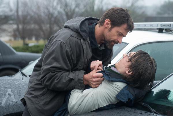 "Hugh Jackman and Paul Dano in ""Prisoners."""