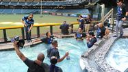 Why Los Angeles Dodgers jumping into Arizona's pool wasn't disrespectful