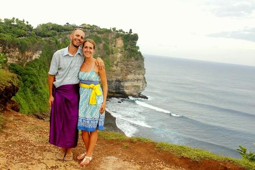 Mike and Anne Howard, married in 2011, started their honeymoon in early 2012 and haven't stopped yet.