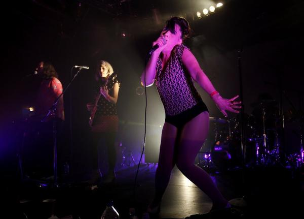 Kathleen Hanna and her band the Julie Ruin perform at the Echoplex.