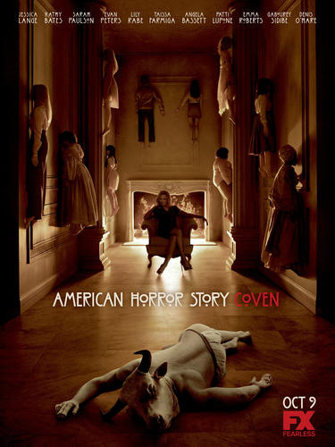 "This fall, Survival is at stake. ""American Horror Story: Coven"" premieres at 9 p.m. CT Oct. 9 on FX."