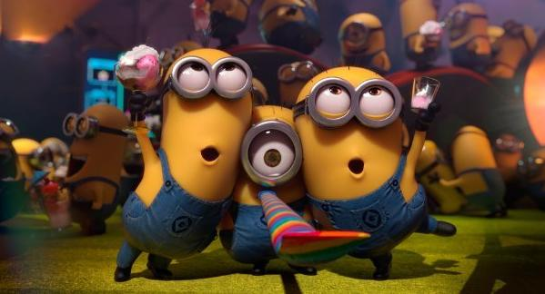 "The Minions in ""Despicable Me 2."" The quirky miniature yellow characters' new movie will now come out in 2015 rather than next year."