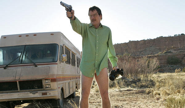 "Bryan Cranston's undies from the first episode of ""Breaking Bad"" are going up for auction."