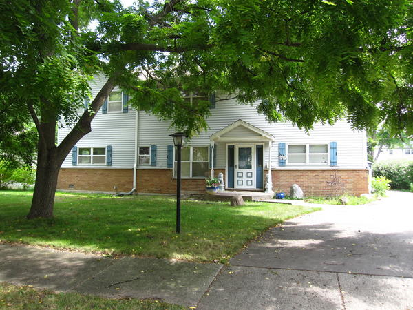 The home at 6211 Park Avenue in Downers Grove was burglarized after a couple was found dead.