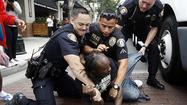 Fights break out at Apple store in Pasadena with iPhone release