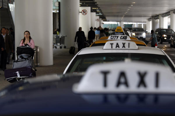 More than 40 citations were handed out at Los Angeles International Airport this week in an operation that focused on limousine, taxi and van drivers.