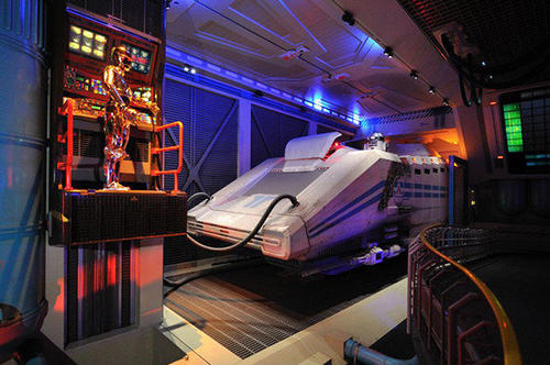 """Unlike other Disney parks, Disneyland Paris still operates the """"classic"""" version of the Star Tours motion simulator."""