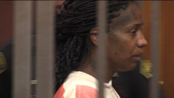 Duewa Abeana Lee, seen at court hearing in July, was sentenced to life in prison for torturing her incarcerated fiance's 12-year-old daughter.