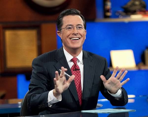 "Stephen Colbert on ""The Colbert Report."""