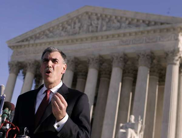 Solicitor General Donald Verrilli told the Supreme Court that Hobby Lobby and other businesses don't enjoy religious freedom.