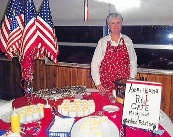 "Jan Smith of St. James Episcopal Church in Leesburg during last year's ""A Taste of St. James"" fundraiser."