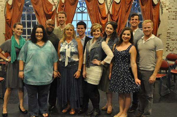"Central Florida Community Arts members Charity Smith (from left), Heather McCraw, Jamaal Solomon, John Gracey, Jana Cotta, Brandon Lang, Mary Sarah Johnson, Ashley Willsey, Jayne Claire, Steven O'Leary and Bryan Manley perform in ""The Music of Rodgers & Hammerstein: The Golden Age of Musical Theatre."""