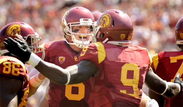 Cody Kessler says he's more settled in to the starting quarterback role after USC's 35-7 victory over Boston College in which he completed 15 of 17 passes for 237 yards and two touchdowns on Saturday.