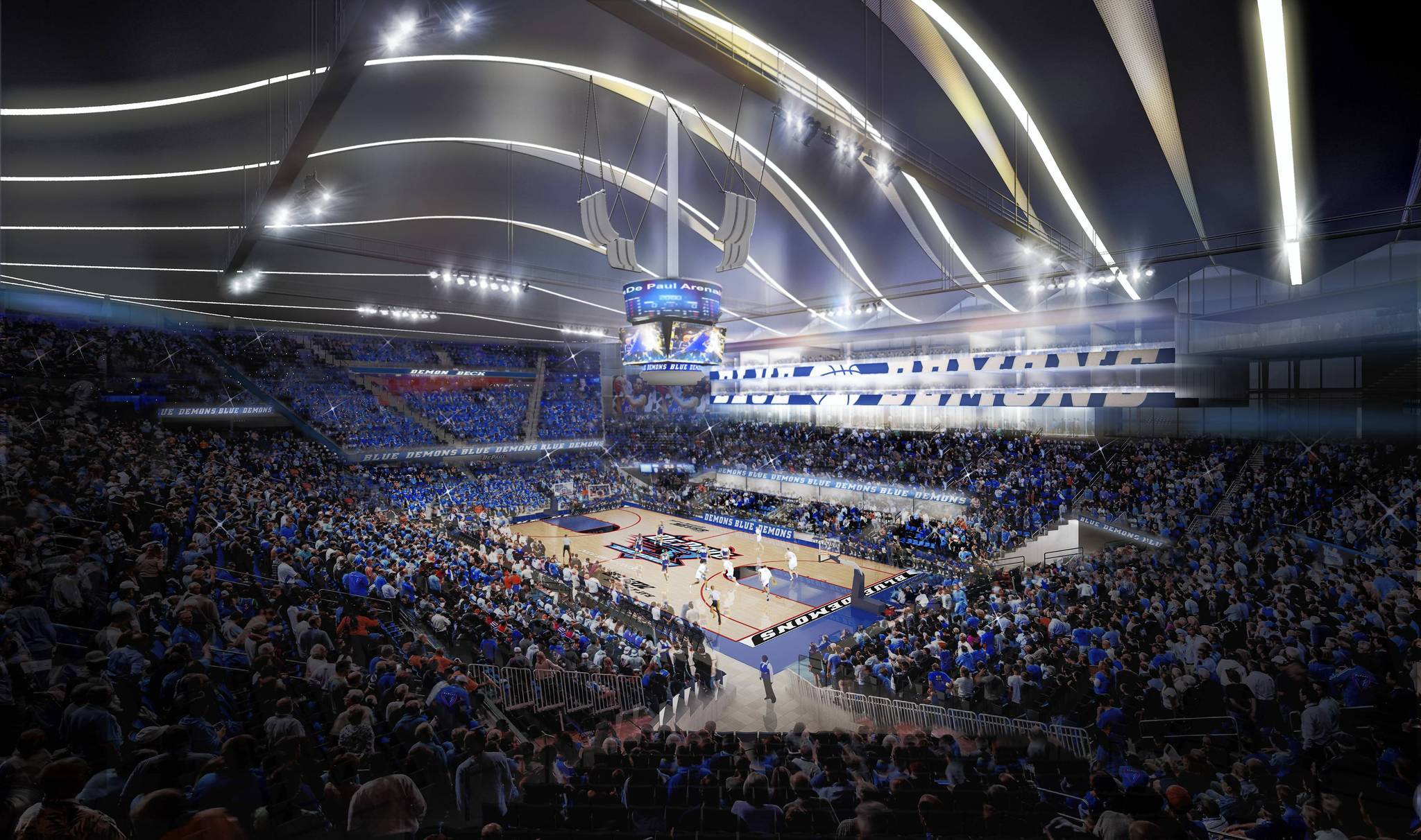 DePaul delays debut of basketball arena