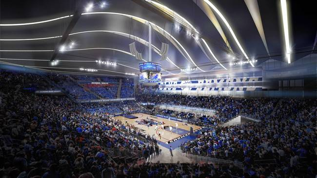 Northwestern Basketball Arena Debut of Basketball Arena