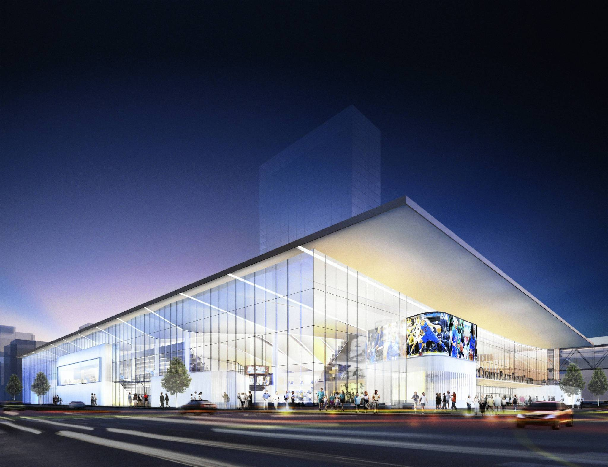 DePaul delays debut of basketball arena