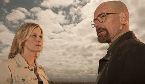 "Bryan Cranston and Anna Gunn in ""Breaking Bad"""