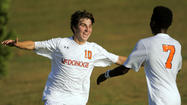 No.1 McDonogh boys soccer handles No. 2 Loyola in 3-0 win
