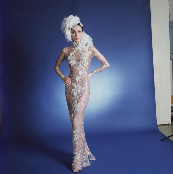 "Costume designers: Ret Turner and Bob Mackie  ""Cher's collaboration with Bob Mackie created a revolution in hippie chic,"" says Landis. ""You could say it wasn't Sonny and Cher who made the music together, it was Cher and Bob Mackie because she was a sensation. That's what we wanted to look like."""