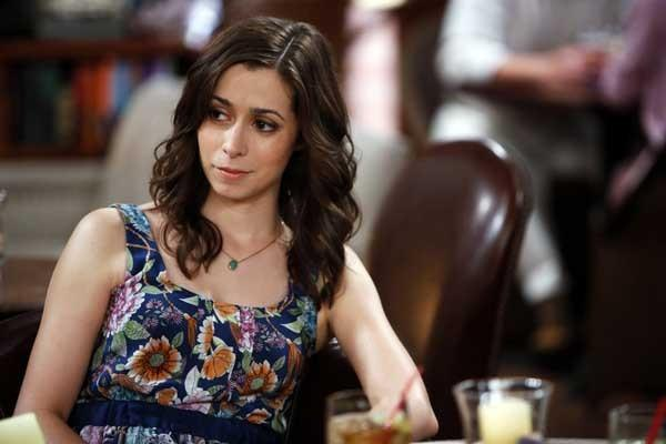 "Cristin Milioti in the season premiere of ""How I Met Your Mother"" on CBS."