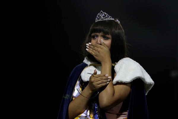 Cassidy Lynn Campbell, 16, of Huntington Beach was named homecoming queen on Friday night at Marina High School.