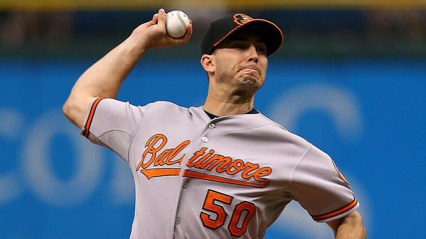 Miguel Gonzalez finished with his 28th quality start Saturday.