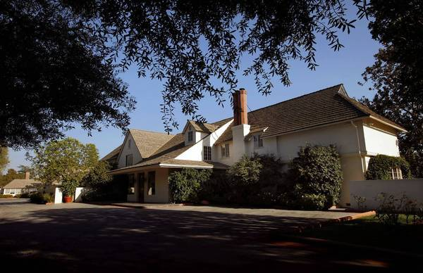 Bob Hope's estate in Toluca Lake has an indoor pool, rose garden, two butler pantries, a guest house and an adjoining 4,000-square-foot office space.