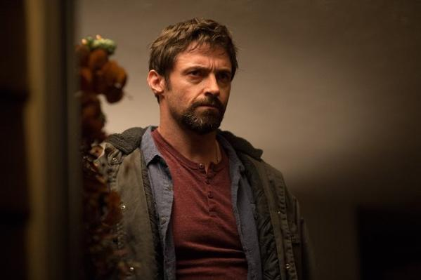 "Hugh Jackman in ""Prisoners,"" which took the top box-office spot with an estimated $21.4 million."