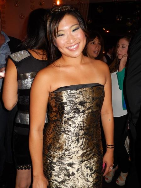"Jenna Ushkowitz of ""Glee"" at the Variety & Women in Film party."