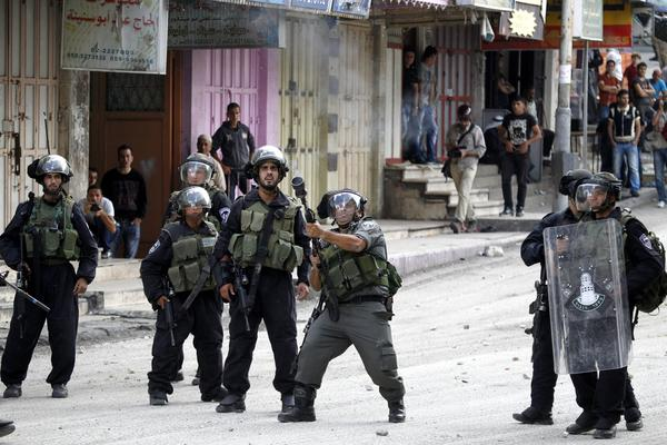 Palestinian youths clash with Israeli security forces in West Bank
