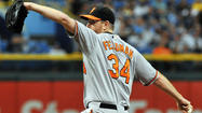 Orioles notebook: Tough decision on pending free-agent RHP Scott Feldman
