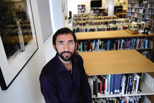 Gianpaolo Chiriaco, a researcher from Italy, is doing work in the Center for Black Music Research at Columbia College in Chicago.