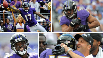 Mike Preston grades the Ravens' 30-9 victory over the Houston T…