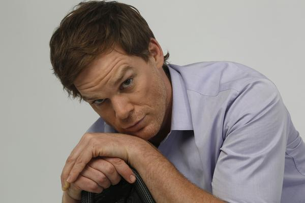 "Portrait of actor Michael C. Hall, who stars on the series ""Dexter,"" which has ended its run after eight seasons."