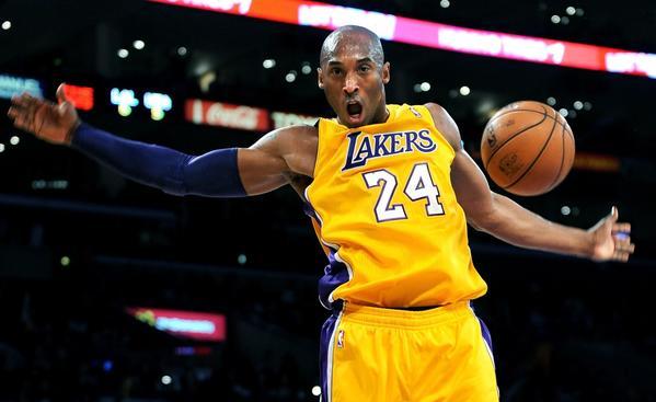 Lakers guard Kobe Bryant.