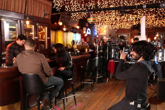 """Chicago Fire"" films at Lottie's Pub"