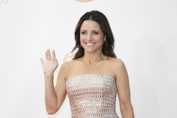 Julia Louis-Dreyfus at the 65th Annual Primetime Emmy Awards Show on September 22, 2013 at Nokia Theatre L.A. Live, Los Angeles, California.