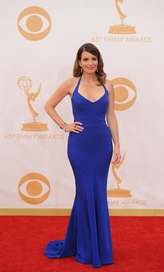 """30 Rock's"" Tina Fey in Narciso Rodriguez."
