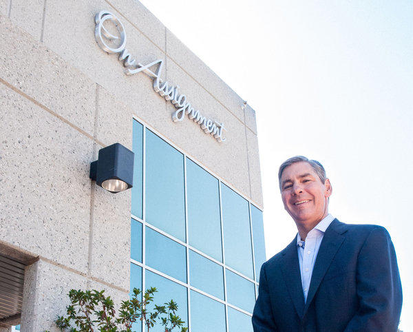 Peter Dameris is the chief executive of On Assignment Inc., a Calabasas company that provides short- and long-term employees to companies in several fields.