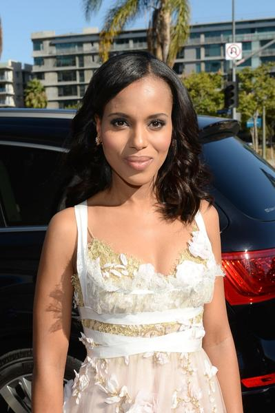 "Emmy nominee Kerry Washington of ""Scandal."""
