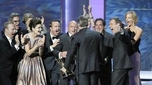 'Breaking Bad' tops Emmys amid many upsets