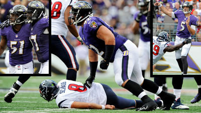 Five Things We Learned from the Ravens' 30-9 win over the Houst…