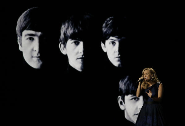 Carrie Underwood's tribute to The Beatles generates the most social media buzz during the Emmy Awards
