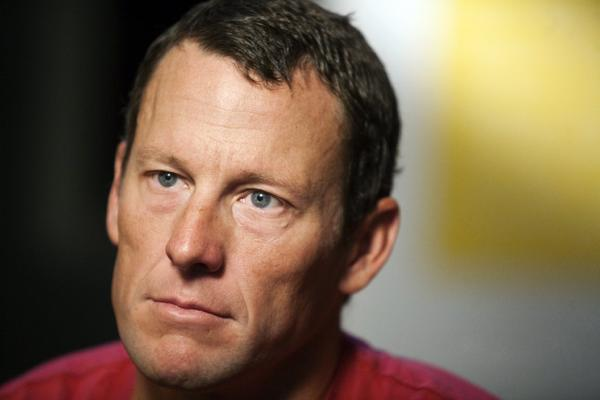 Lance Armstrong still has at least one fan out there.